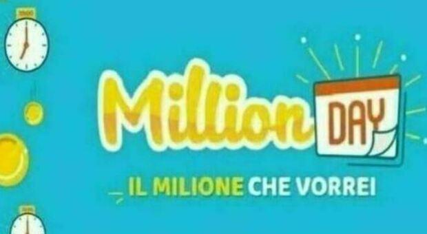 Million Day, estrazione dei numeri vincenti di giovedì 22 luglio
