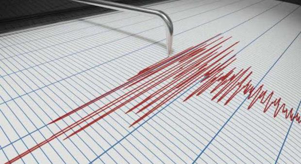 Un sismografo. Torna la paura per il sisma nell'entroterra maceratese