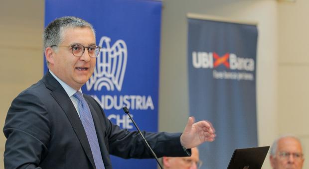 Il presidente di Confindustria Marche Claudio Schiavoni