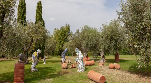 """Capalbio, l'installazione """"Parnaso"""" di Thomas Lange_credits Courtesy of Press Office"""