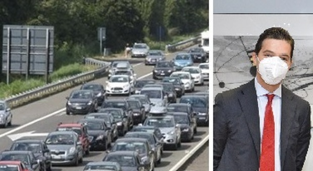 """""""Tratto maledetto"""" dell'A14, Acquaroli scrive ad Autostrade: «Gravi disagi, attenzione ai cantieri»"""