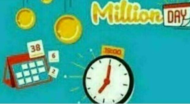 Million Day, i numeri vincenti dell'estrazione di venerdì 24 settembre 2021