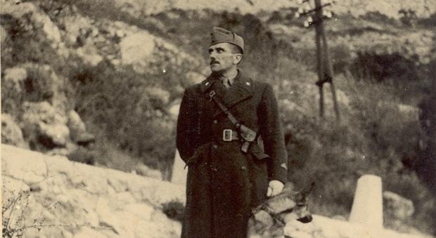 Leandro Benini a Spalato nel 1942