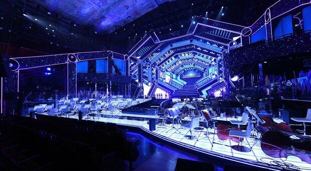 La scenografia del Festival di Sanremo 2021