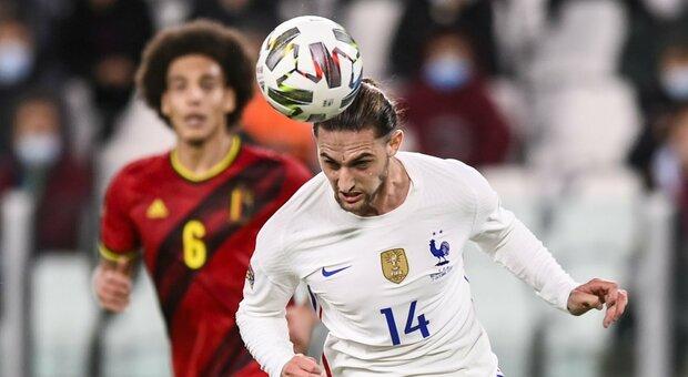 Juventus, Rabiot è positivo al Covid: è in isolamento nel ritiro della Nazionale francese