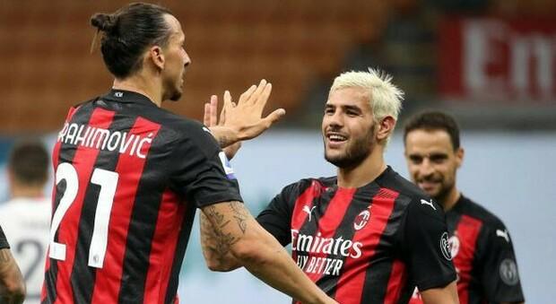 Milan, altri due positivi: Theo Hernandez e Calhanoglu saltano il Cagliari
