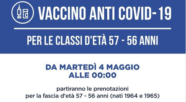 Vaccini Lazio, da stasera le prenotazioni per chi ha 56-57 anni. Nuovi centri, farmaco iniettato e calendario