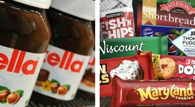 Ferrero compra anche i biscotti Burton's, mister Nutella si espande nel Regno Unito