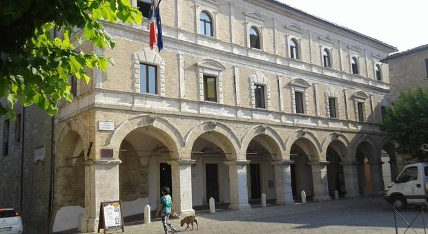 Il Palazzo Comunale a Cingoli