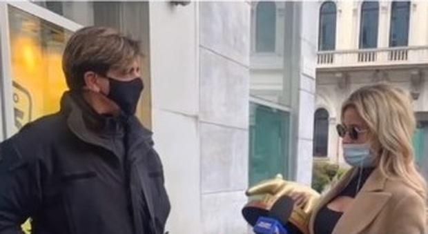 Diletta Leotta, Tapiro d'oro dopo le foto con Ryan Friedkin: «Ero single, ora sto con Can»