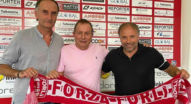 Cornacchini allenerà il Forlì, raggiunge in Romagna il dg Andreatini