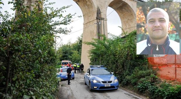 Macerata, si lascia cadere dal ponte del cimitero: inutili i soccorsi, muore un uomo di 39 anni