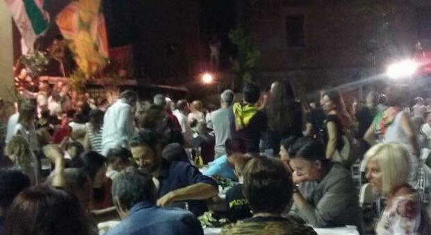 Una cena al sestiere di Sant'Emidio