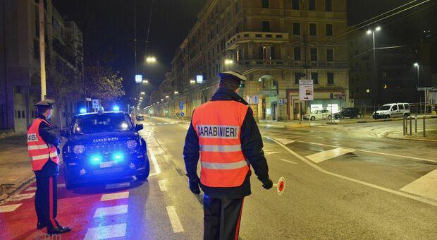 I controlli dei carabinieri ad Ancona
