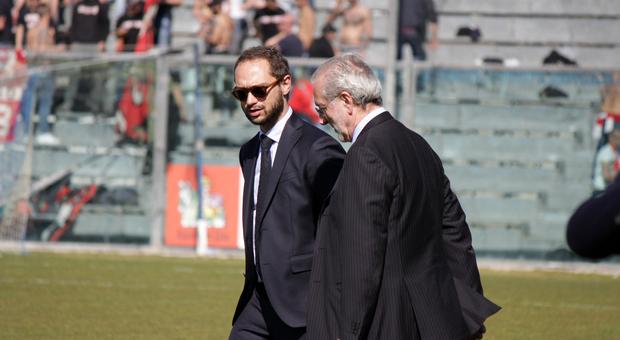 Fabio Massimo Conti, direttore generale della Fermana Calcio che gioca in Serie C