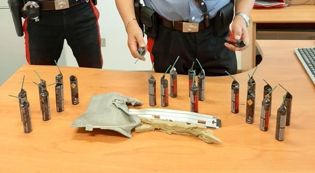 Gradara colpo esplosivo al bancomat: presi due banditi e caccia al terzo uomo