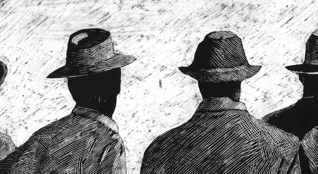 Una immagine del cortometraggio firmato Simone Massi