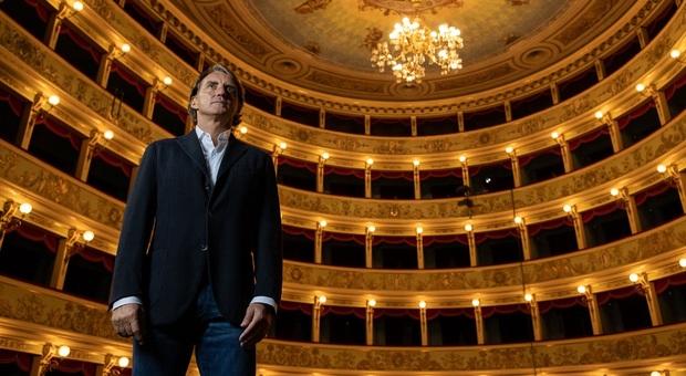 Roberto Mancini testimonial delle Marche