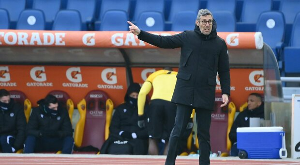 L'allenatore dell'Udinese, Luca Gotti