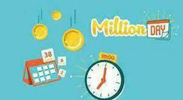 Million Day, estrazione dei numeri vincenti di oggi 14 ottobre 2021