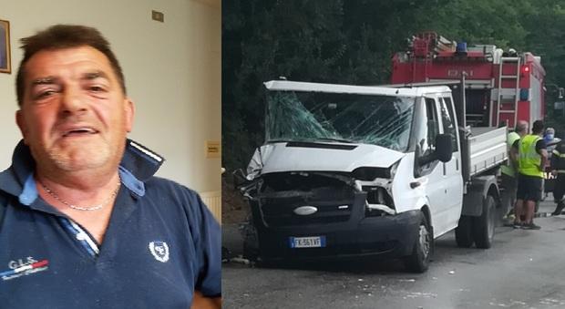 Sant'Elpidio a mare, schianto col furgone, muratore 53enne muore dopo un giorno d'agonia. Aveva perso il figlio di 20 anni in un incidente