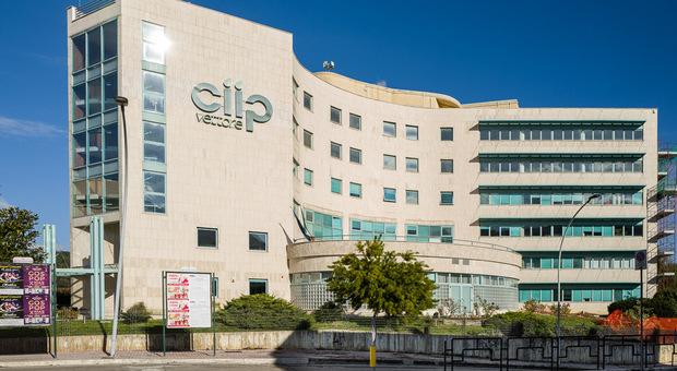 La sede degli uffici della Ciip ad Ascoli