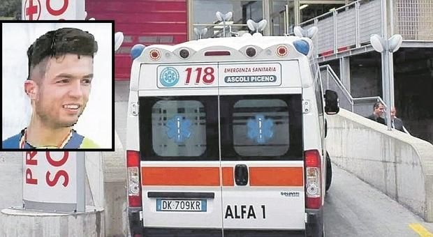 Castignano, si accascia di fronte ai colleghi, vani i soccorsi: Samuele stroncato da un malore a 24 anni