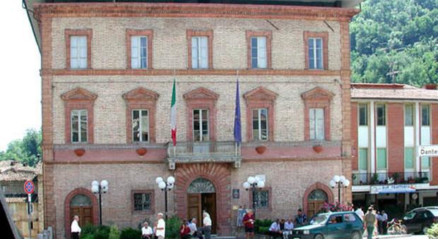 Il municipio di Comunanza
