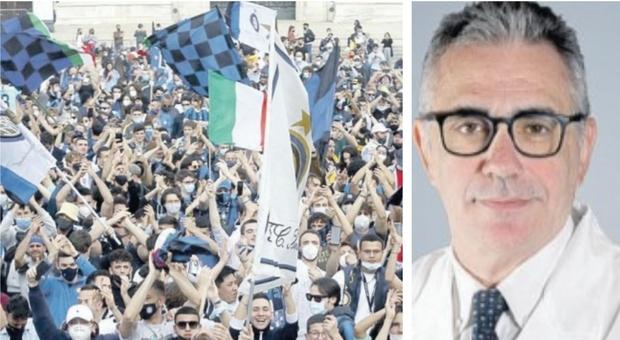 Festa scudetto dell Inter, Pregliasco: «Avrà conseguenze serie, rischio infezioni in famiglia»