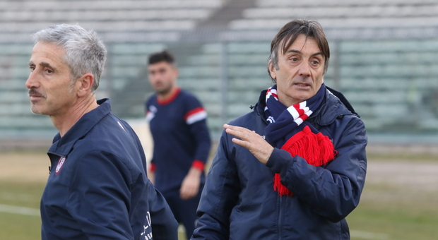 Aldo Clementi, tecnico della Vigor Senigallia