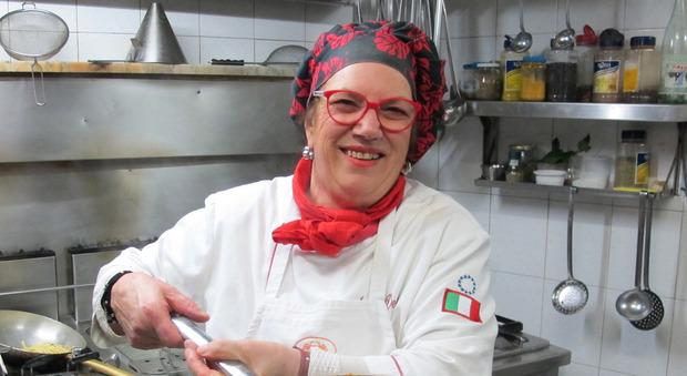 Anna Dente, foto Rino Barillari