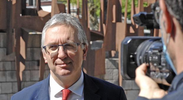 Il governatore delle Marche Luca Ceriscioli