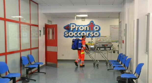 Il pronto soccorso dell'ospedale pediatrico Salesi