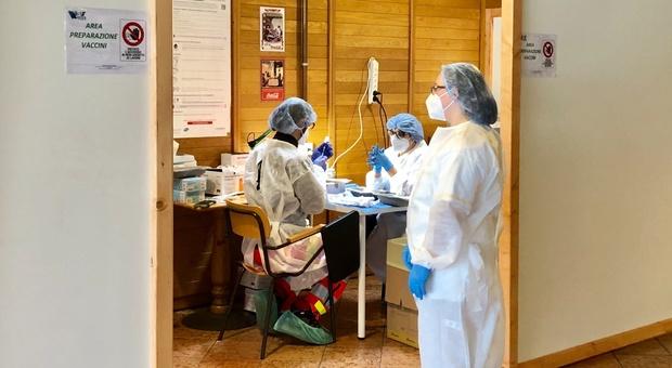 L'ex Ristò dove si eseguono le vaccinazioni