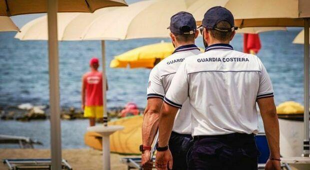 La Guardia costiera ha preso in custodia l'involucro e il suo contenuto