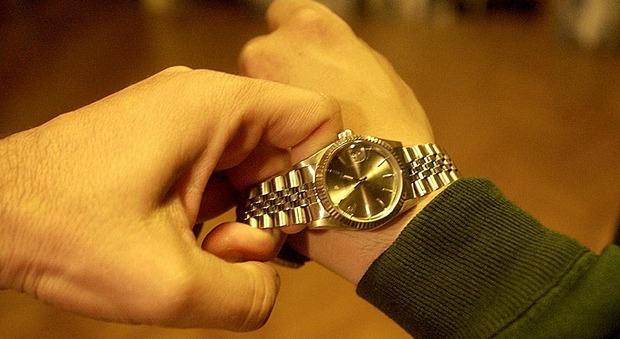 La ladra ha la passione dei Rolex