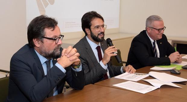 Zappasodi, Galeati e Perosa della Fondazione Carisap