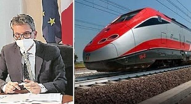 Ultimo miglio e treni ad alta velocità, Baldelli chiede altri due commissari per le opere delle Marche