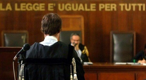 Un'udienza in tribunale