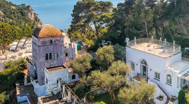 Capri, la villa di Christian De Sica è in vendita: ecco quanto costa
