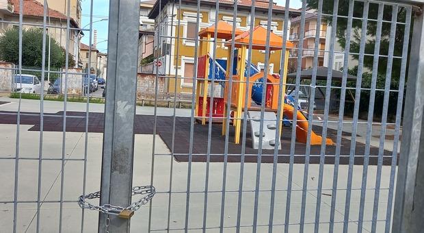 I giochi in piazza Diaz