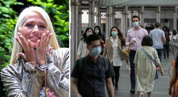 Heather Parisi: «A Hong Kong 7 nuovi casi di Covid tutti importati e tutti completamente vaccinati»