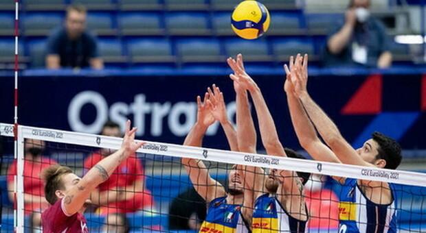 Europei pallavolo, l'Italia batte la Germania e vola in semifinale