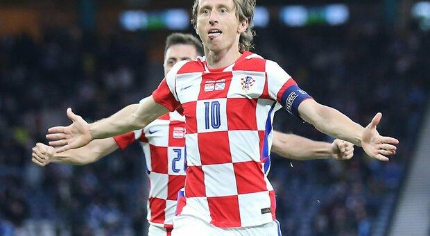 Croazia-Scozia 3-1 live