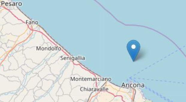 Marche, scossa di terremoto all'alba Epicentro a 8 chilometri da Ancona