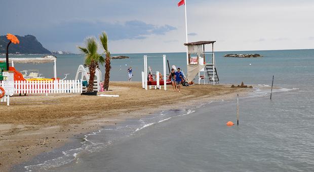 Il litorale di Arzilla tornato balneabile