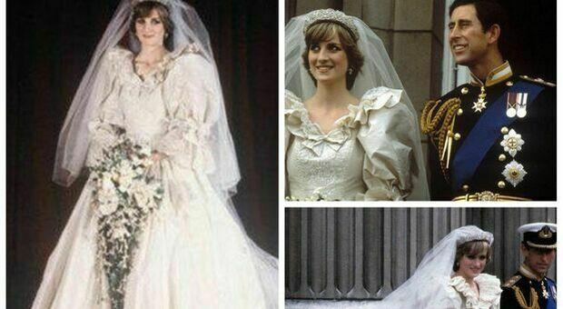 Lady Diana, il suo abito da sposa esposto dopo 25 anni nella mostra a Kensington Palace