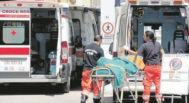 San benedetto, il pronto soccorso scoppia tra gente in fila e procedure Covid: attese infinite