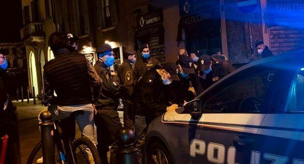 La polizia ha eseguito i controlli al Lazzabaretto