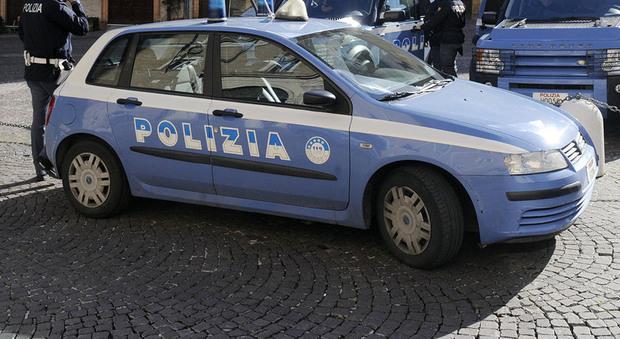 Sul posto è intervenuta la polizia